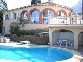 Photo N°1:  Villa - maison Denia Vacances Alicante Costa Blanca ( Valencia) ESPAGNE es-1-72