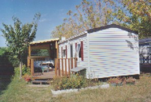 Photo N°1:  Mobil-home   M Mimizan Vacances Ereilhan Landes (40) FRANCE 40-2568-1