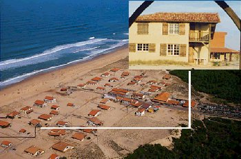 Photo N°1:  Bungalow   Sai Saint-Girons-Plage Vacances Hossegor Landes (40) FRANCE 40-2697-1