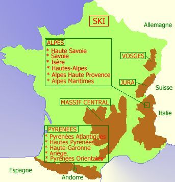 carte de france jura vosges